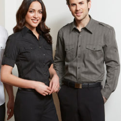 Biz Collection Ladies & Mens Brooklyn Shirt