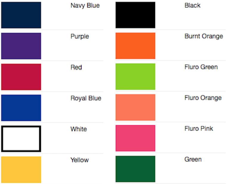 leo-lanyard-colour-chart
