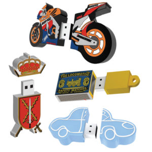 2D Custom Shape USB Flash Drive