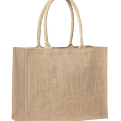 Supermarket Laminated Jute Bag