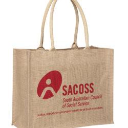 Supermarket Laminated Jute Bag