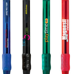 BIC WideBody Clear Grip Pen