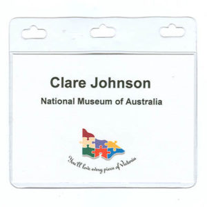 Medium Sized Conference Name Tag Holder A