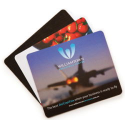 Deluxe Mouse Mat - 205 x 145 x 3mm Rubber Sponge