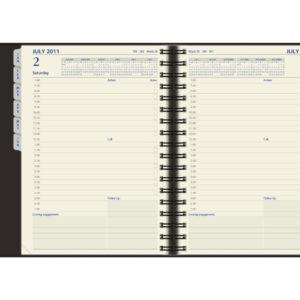 A5 Wirobound Diary Portfolio Daliy C2316