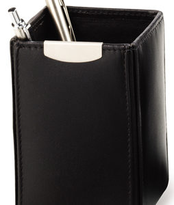 Classic Pen Caddy with Silver Trim