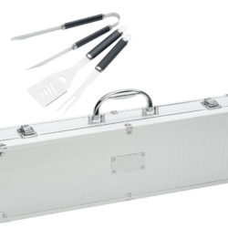 Stainless Steel BBQ Set Case