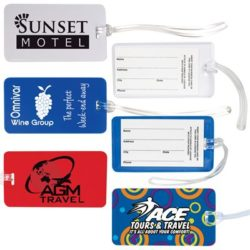 Monte Carlo Luggage Tag