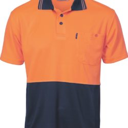 DNC Hi-Vis Two Tone Cool Breathe S/S Polo