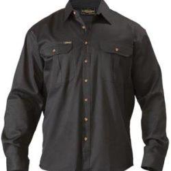 Bisley Cotton Drill L/S Workshirt
