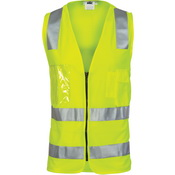 DNC Day/Night Side Panel Safety Vest with CSR R/Tape