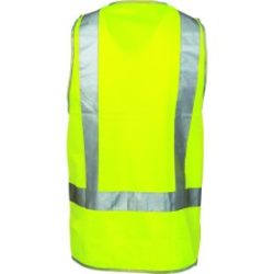 DNC Day/Night Safety Vests with H Pattern