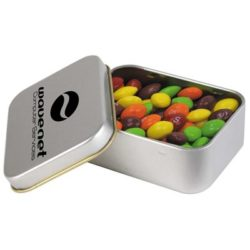 Confectionery in Rectangular Tin