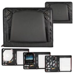 Elleven Large Zippered Padfolio