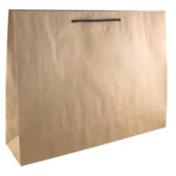 Deluxe Brown Kraft Paper Bags