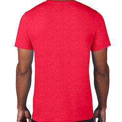 790_Anvil Black Tee Red Back
