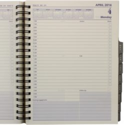 793-21-quarto-management-daily-coram-day-to-page-refillable-wiro-diary-inside