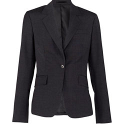 Van Heusen Women's Wool Blend Flat Front Jacket
