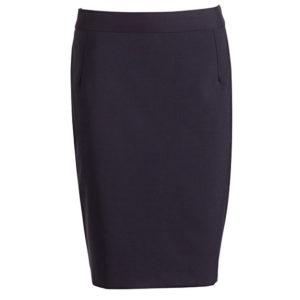 Van Heusen Women's Wool Blend Flat Front Skirt