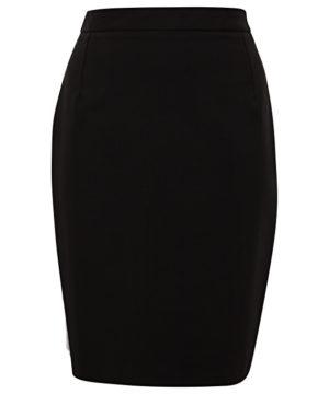 Van Heusen Women's Wool Flat Front Skirt