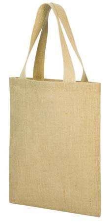 A4 Jute Shopper Bag