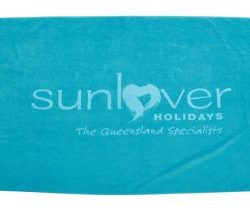 Signature Tone on Tone Beach Towel