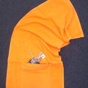 Sports Towel Pocket 'n' Zip