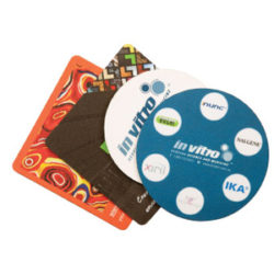 Deluxe Drink Coaster 1mm Natural Rubber