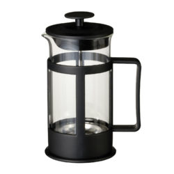 Black Plastic Coffee Plunger