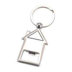 JK003 Metal House Key Ring