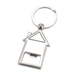 JK003 Metal House Key Ring
