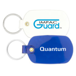 Oval PVC Key Chain