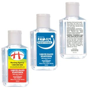 60ml Liquid Hand Sanitiser