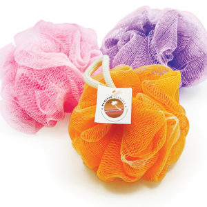 Pastel Shower Net Sponge