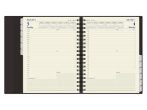 Quarto Wirobound Diary Day to Page 793