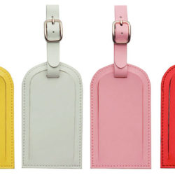 Coloured Luggage Tags