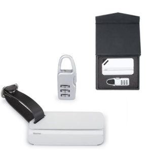 Combination Lock & Luggage Tag