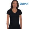 Gildan Softstyle V-Neck Men's & Ladies T-Shirt
