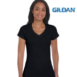 Gildan Softstyle V-Neck Men's & Ladies T-Shirt