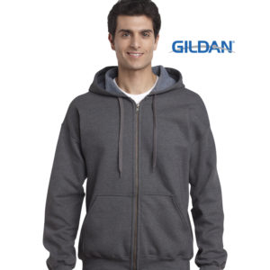 Gildan Heavy Blend Vintage Classic Full Zip Adult Hoodie