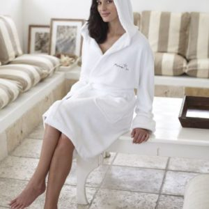 Coral Fleece Bathrobe