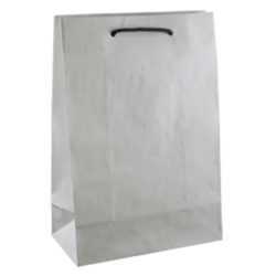 Deluxe White Kraft Paper Bags