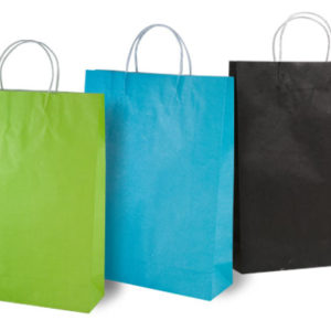Coloured Kraft Paper Bags