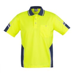 Hi-Vis Short Sleeve Squad Polo