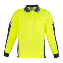 Hi-Vis Long Sleeve Squad Polo