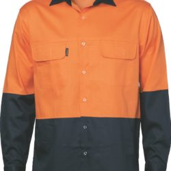 DNC Hi-Vis 3 Way Cool-Breeze Cotton L/S Shirt