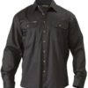 Bisley Cotton Drill L/S Workshirt
