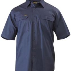 Bisley S/S Lightweight Drill Workshirt
