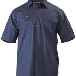 Bisley S/S Lightweight Drill Workshirt