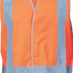 DNC Day/Night Safety Vests with Cross Back Pattern